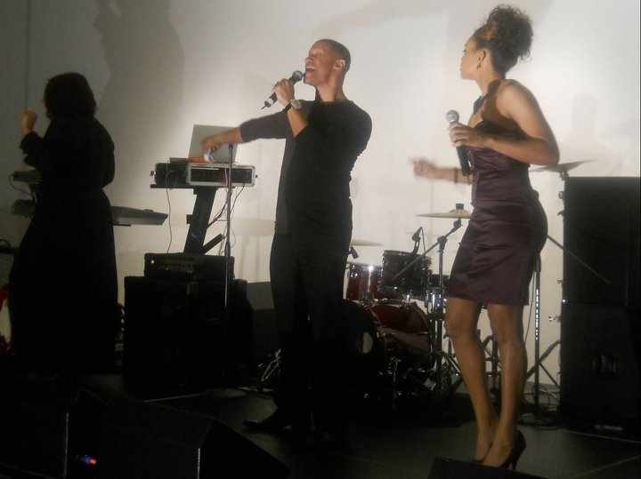 Tony Terry & Demetria McKinney Performing At 'The Salute to The Legend Gala'