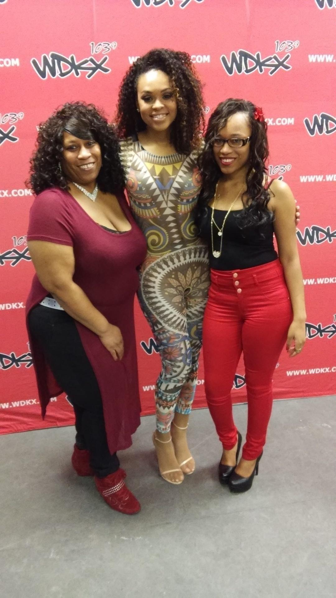Mama D, Demetria McKinney and Iesha Marie at R.Kelly - Black Panties Tour