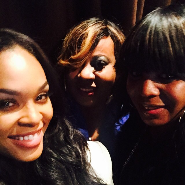 Demetria McKinney and Shante Traynham attend CIAA Women Empowerment Brunch