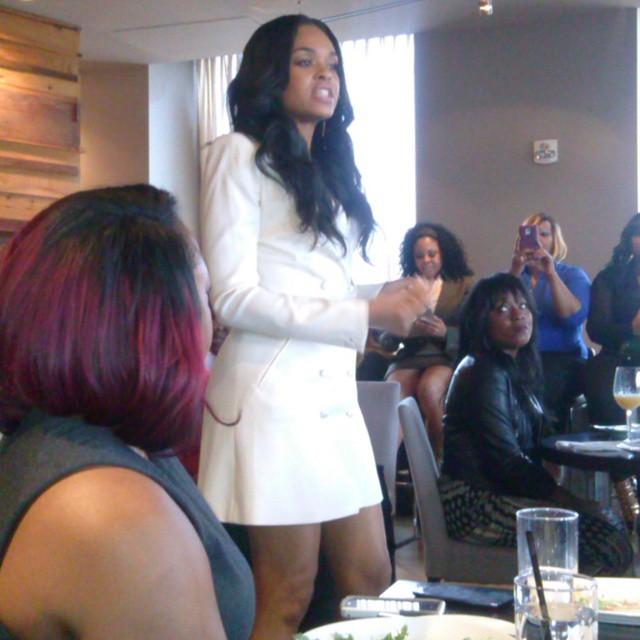 Demetria McKinney attend CIAA Women Empowerment Brunch