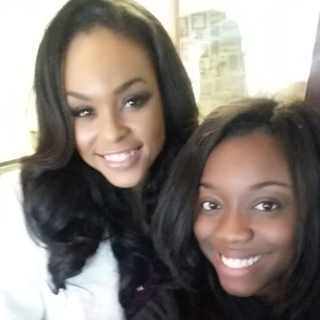 Demetria McKinney and Vonyetta attend CIAA Women Empowerment Brunch