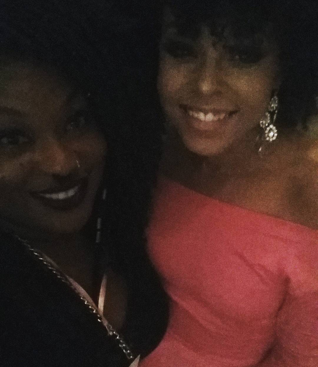 "Sam Ravelle and Demetria McKinney attend the 4th Annual ""50 Shades of Pink"" Charity Fashion Show"