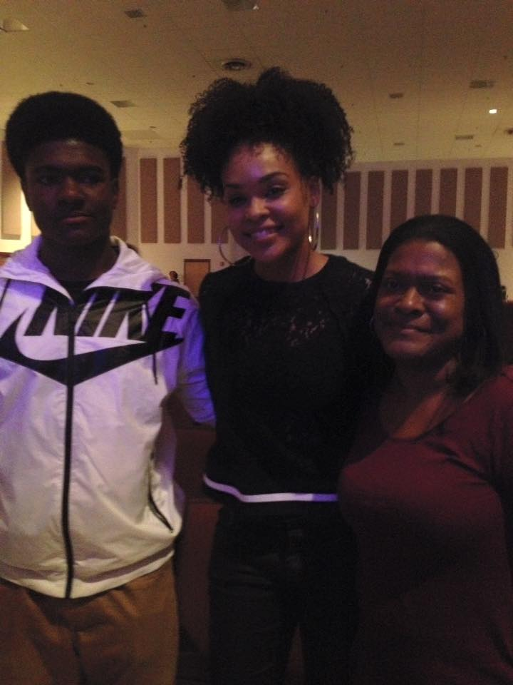 Demetria McKinney attend Heal the Hood's Live the Dream Hip Hopera - Hickory Ridge Middle School
