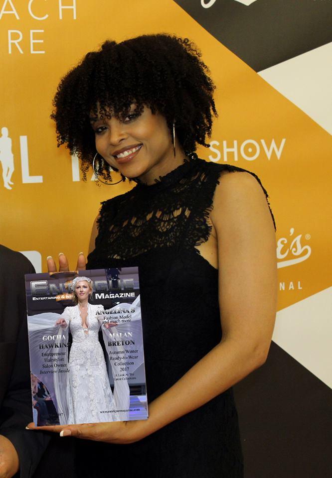 Demetria McKinney attend The Phill Taitt Show - Dream Reach Inspire