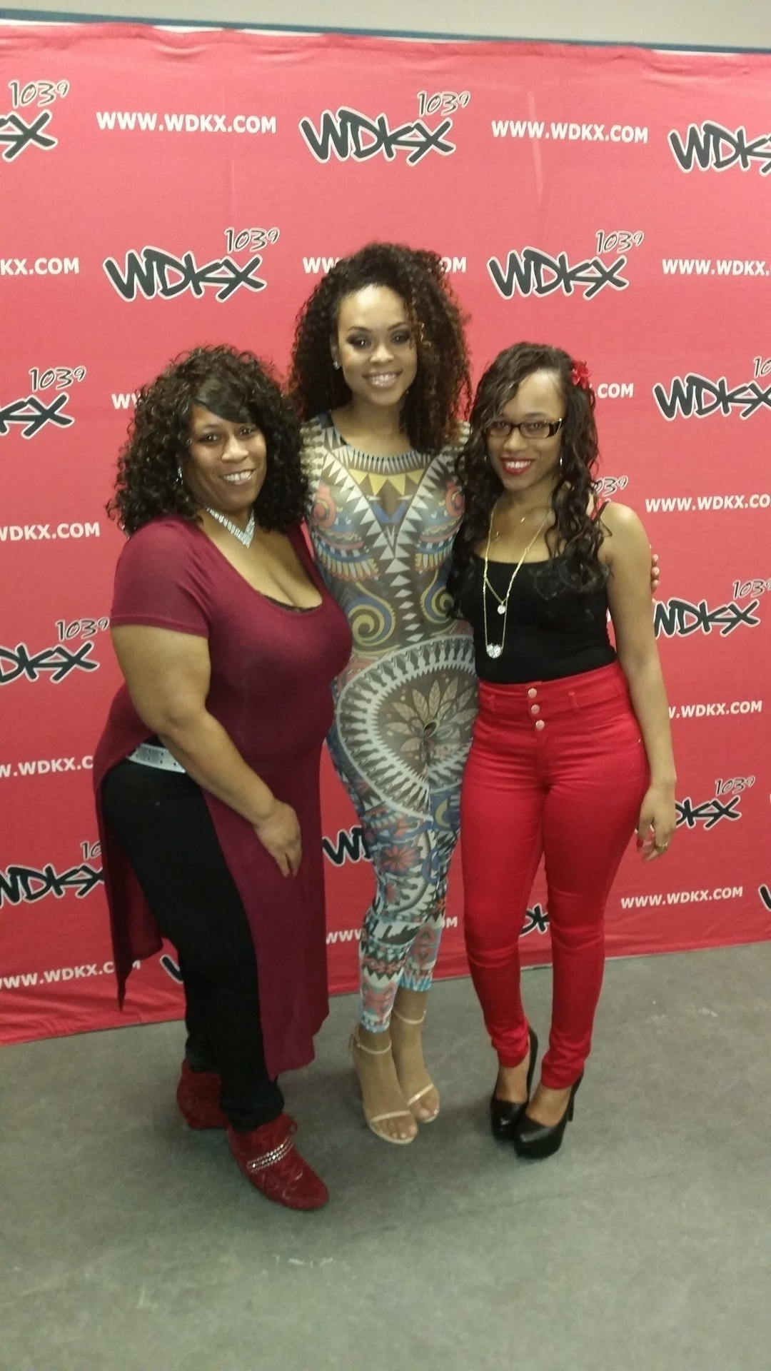 Mama D, Demetria McKinney and Iesha Marie at R.Kelly - Black Panties Tour