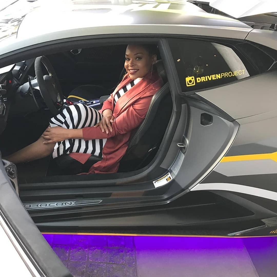 Demetria McKinney attend Hublot Diamond Rally Launch Party