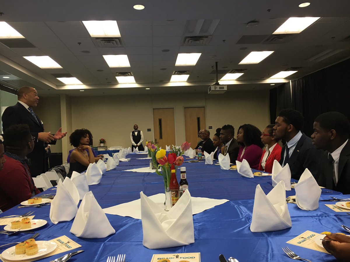 Demetria McKinney attend National Black College Alumni Hall of Fame Foundation, Inc. Legacy Lecture Series - Dillard University