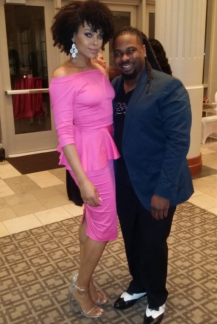 "Demetria McKinney and Messiah Marcial attend the 4th Annual ""50 Shades of Pink"" Charity Fashion Show"
