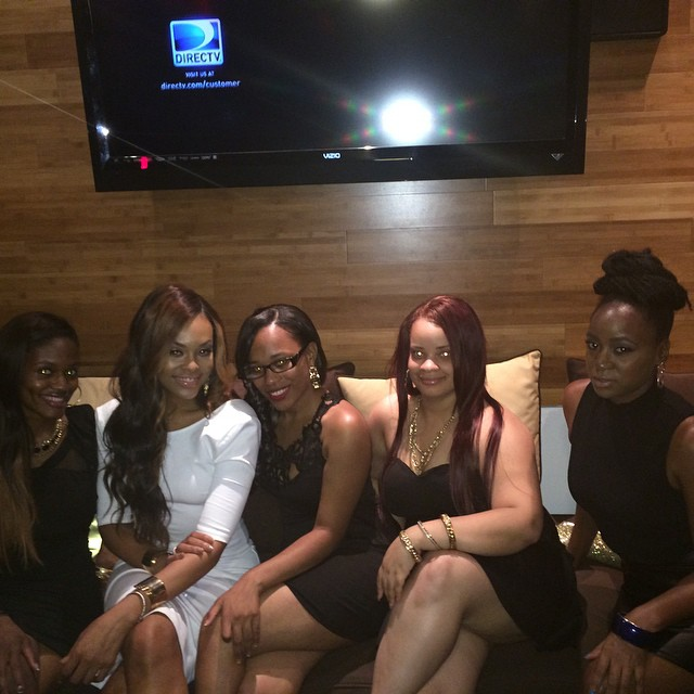 "Chelby, Demetria McKinney, Iesha Marie, Marika and Michelle attends KONTROL ""Fabulous At Every Age"" Issue Release Party - Bar One"