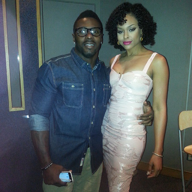 Jay Barnett and Demetria McKinney filmed a PSA as Ambassadors for Hosea Feed The Hungry Campaign - September 22, 2014