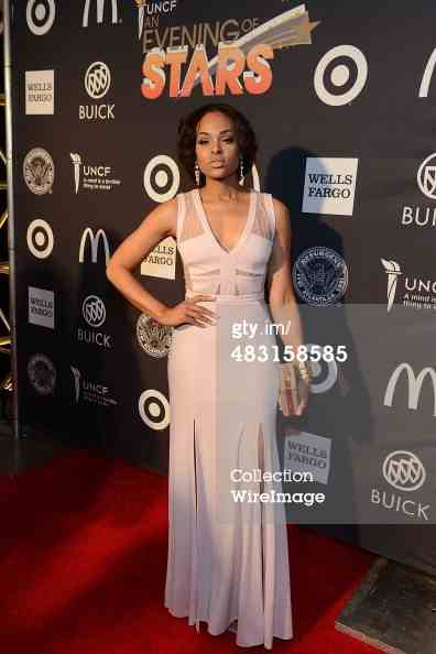 Demetria McKinney attends UNCF's 35th annual An Evening With The Stars at Boisfeuillet Jones Atlanta Civic Center