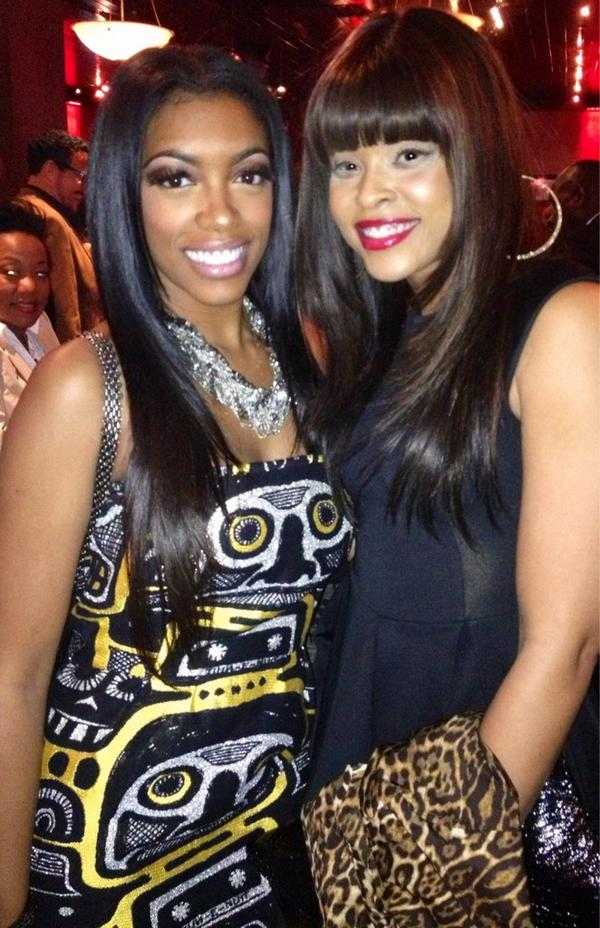 "Porsha Stewart & Demetria McKinney At ""Frank Ski's Kid Foundation Wine Tasting and Live Auction"""