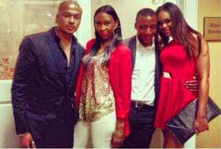 "Charles Harrison, Aaliyah, Victor & Demetria McKinney At The ""Omega Psi Phi - Night Of Scholarship"""