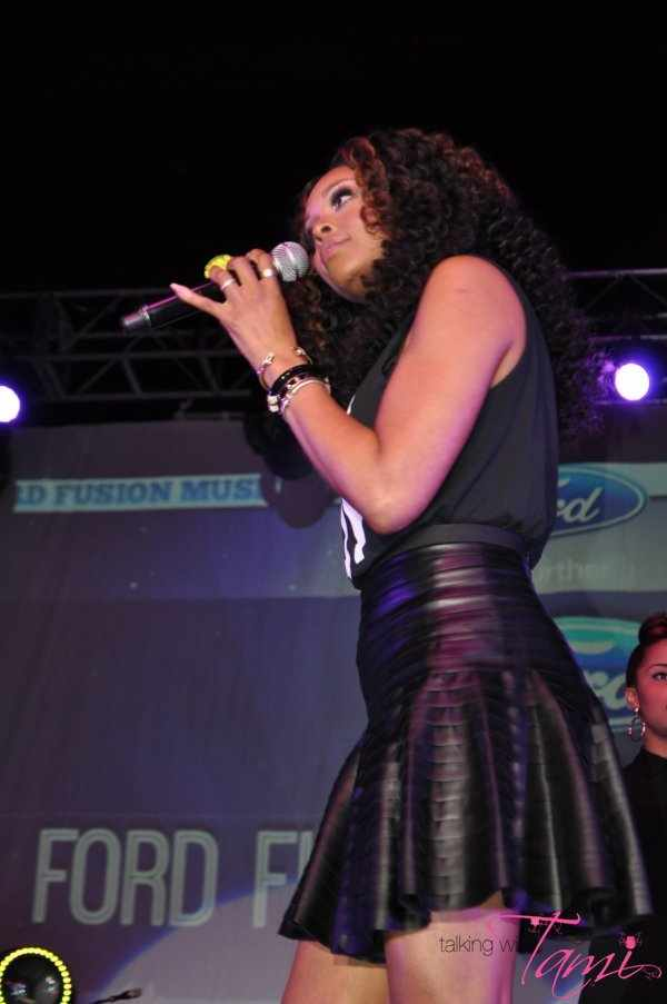 Demetria McKinney Performs At V103's 'For Sisters Only' Event
