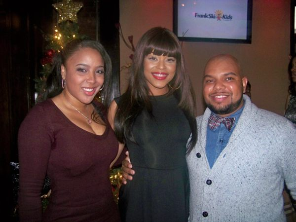 "Jam Poet, Demetria McKinney & Bow Tie Chef At ""Frank Ski's Kid Foundation Wine Tasting and Live Auction"""