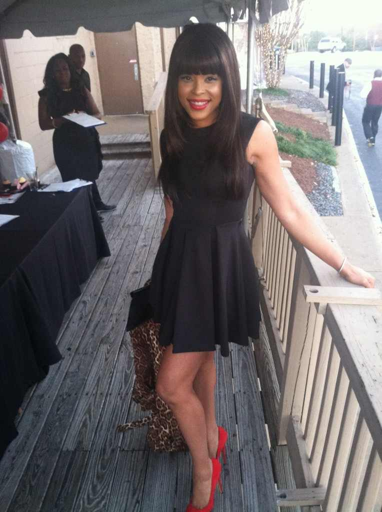 "Demetria McKinney At ""Frank Ski's Kid Foundation Wine Tasting and Live Auction"""